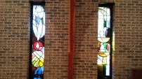 The Sanctuary Stained Glass windows